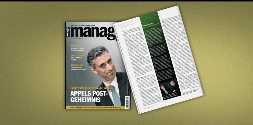 Studie im Manager Magazin zum IT-Consulting