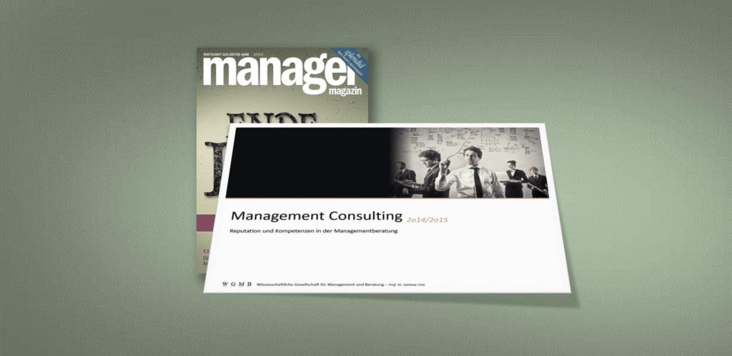 Titelgeschichte im Manager Magazin
