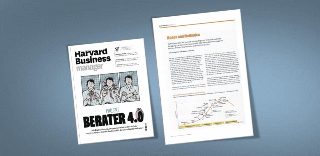 Beitrag im Harvard Business Manager