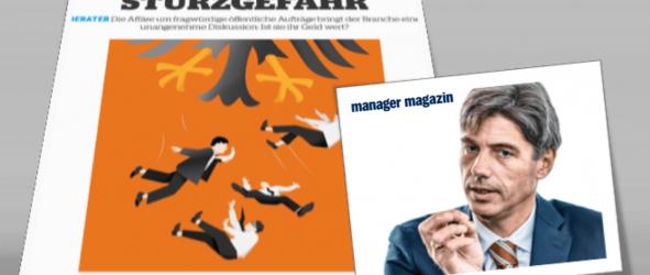 Artikel zur Public-Sector-Beratung im manager magazin