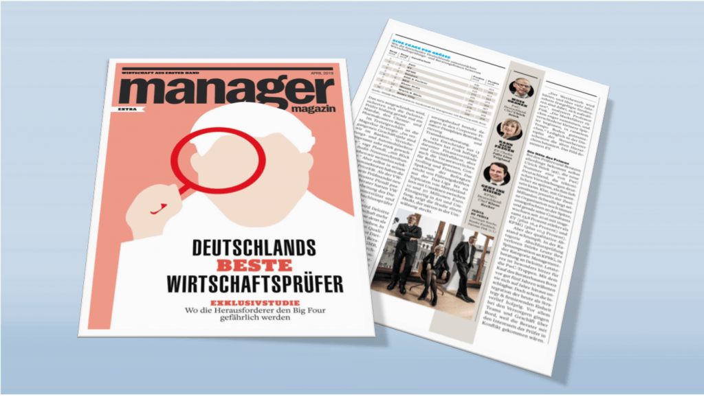 Germany's best auditors 2019