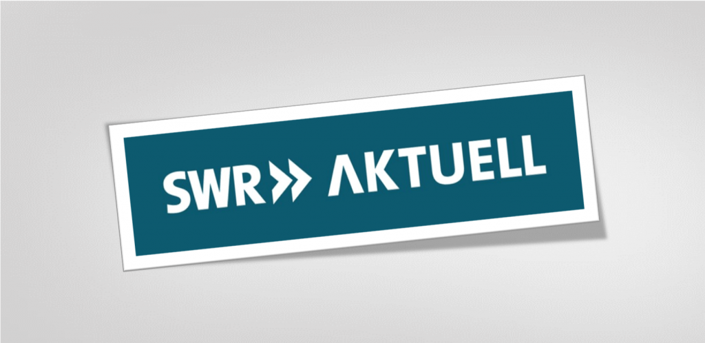 Interview on the benefits of consultants on SWR Aktuell