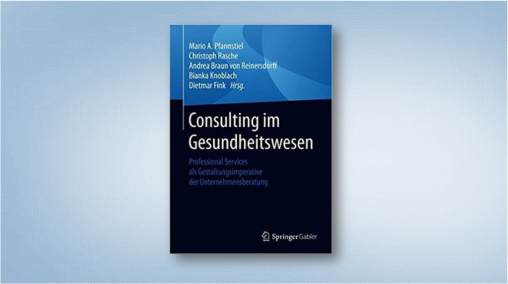 Consulting in the healthcare sector